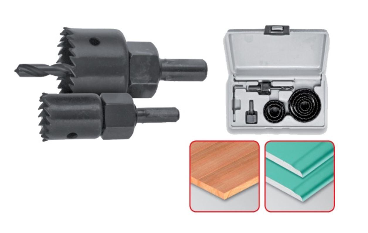 Körkivágó készlet 11 részes(19-64)25mm