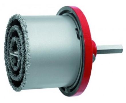 N76104 Wolfram szemcsés koronafúró készlet 33/53/67/73 mm,fúrógépbe